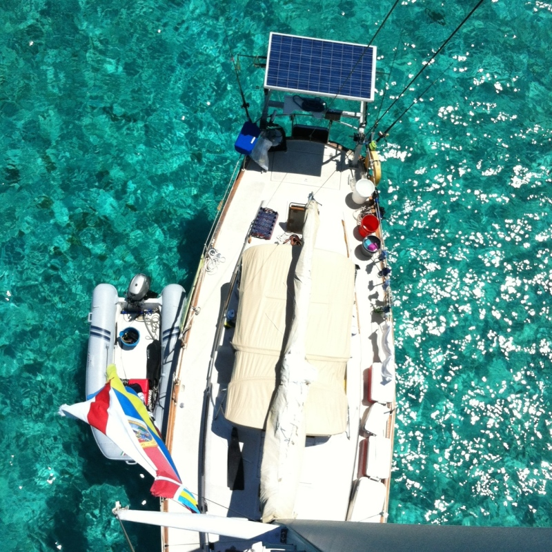 Exumas from Above