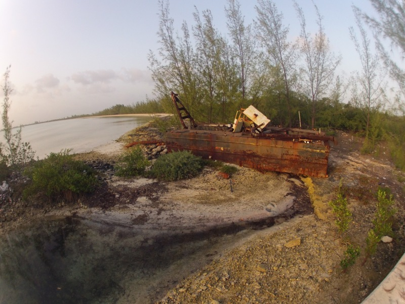 Rusted Dredge. Happy to be away from that corporate life.