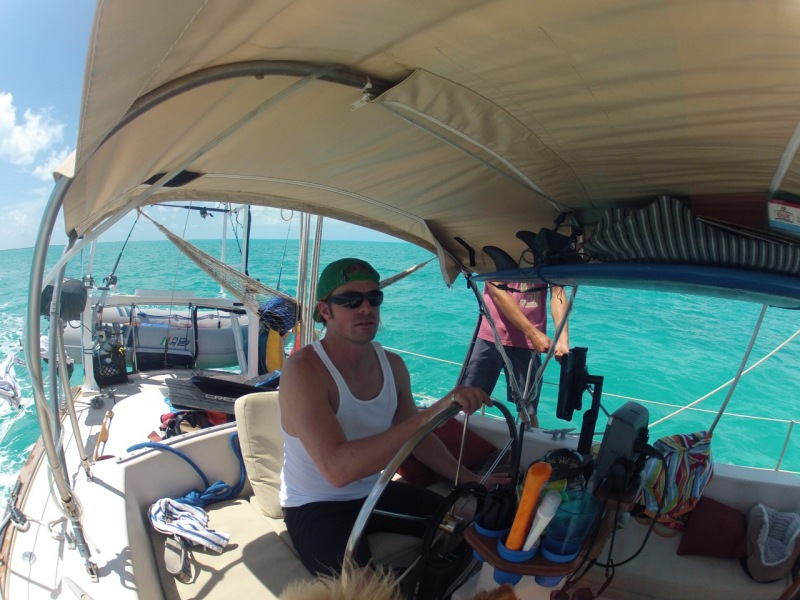 Setting Sail from Thompson Bay