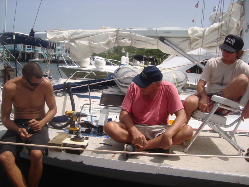 Greg offered Paul some invaluable insight and encouragement. Our engine was in pieces but I miss these moments so much.