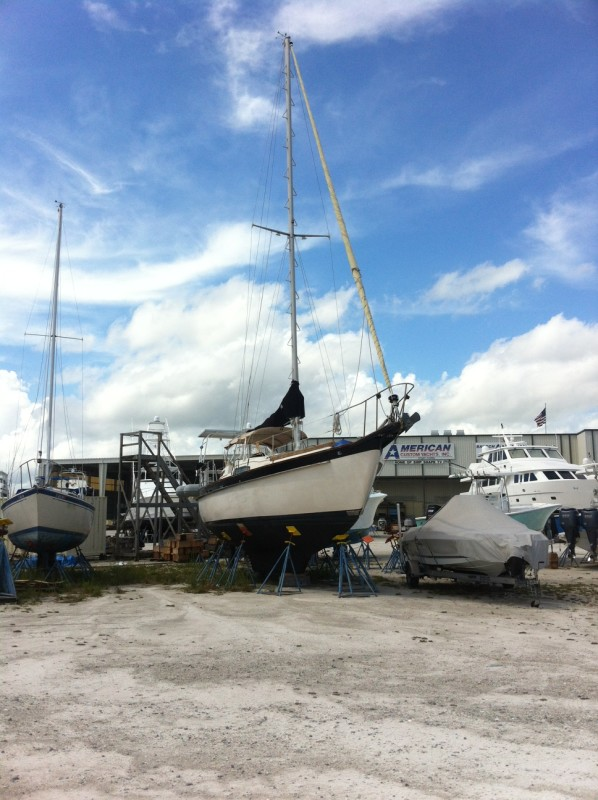 Floridian dry docked for now. Might be selling her and planning for something bigger and better in future! Stay tuned!